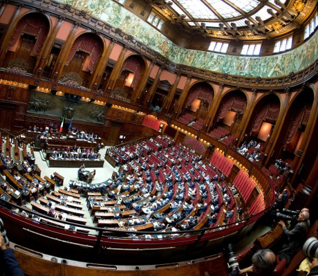 Italian Premier's speech at the Parliament to explain Italy'