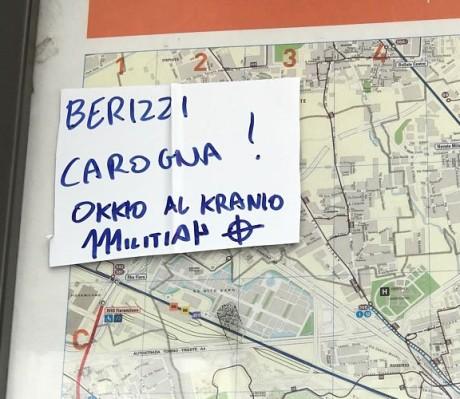 minacce Berizzi