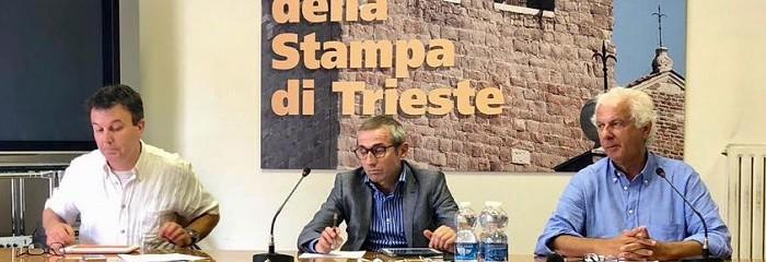 da sin.: Alessandro Martegani, Raffaele Lorusso e Carlo Muscatello